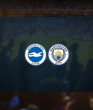 Brighton-Manchester City maçı ne zaman? Saat kaçta? Hangi kanalda canlı yayınlanacak?