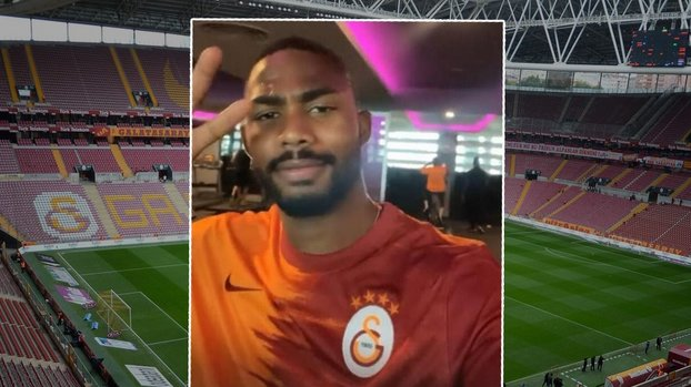 Son dakika GS transfer haberleri | Emmanuel Dennis'ten Galatasaray formalı paylaşım! #