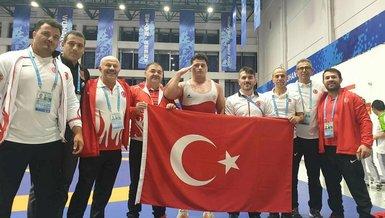 Milli güreşçiler Macaristan'da