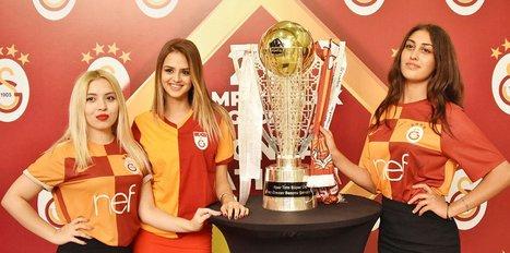 Galatasaray'ın şampiyonluk kupası Konya'da