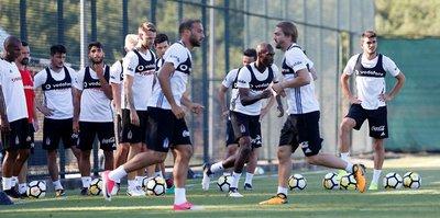 Beşiktaş, yeni sezon hazırlıklarını sürdürdü