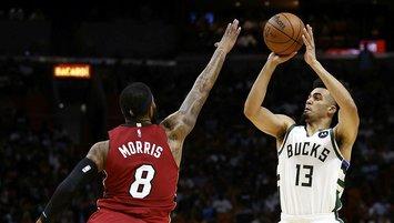 Heat'ten Bucks'a 42 sayı fark! Ömer Yurtseven...