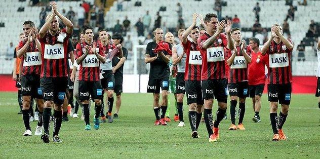 Beşiktaş'ın rakibi LASK Linz, ligde ilk galibiyetini aldı