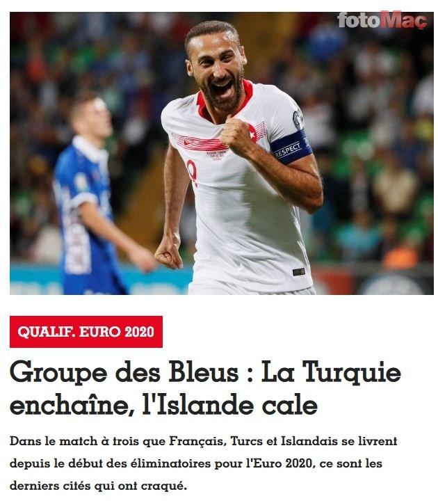 Fransız basınında gündem A Milli Takım'ın liderliği!