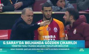 Galatasaray'da Belhanda gözden çıkarıldı