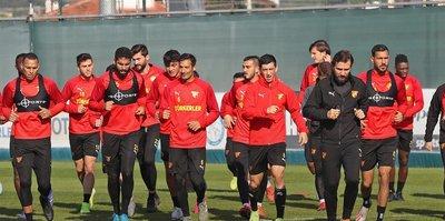 Göztepe Gençlerbirliği maçı hazırlıklarına başladı