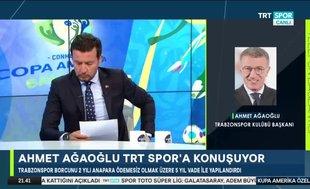 Ahmet Ağaoğlu'ndan müjde: Trabzonspor'un bir kuruş borcu kalmadı