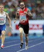 Ramil Guliyev Polonya'da üçüncü