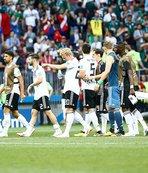 Almanya İsveç maçına kilitlendi