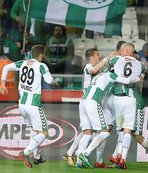 Konyaspor'da ligde kalma sevinci