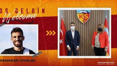 Transfer haberi: Ramazan Civelek Kayserispor'da!