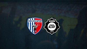 Ankaraspor - Altay maçı saat kaçta ve hangi kanalda?