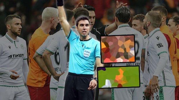 Galatasaray Konyaspor maçında penaltı beklentisi! İşte o pozisyon
