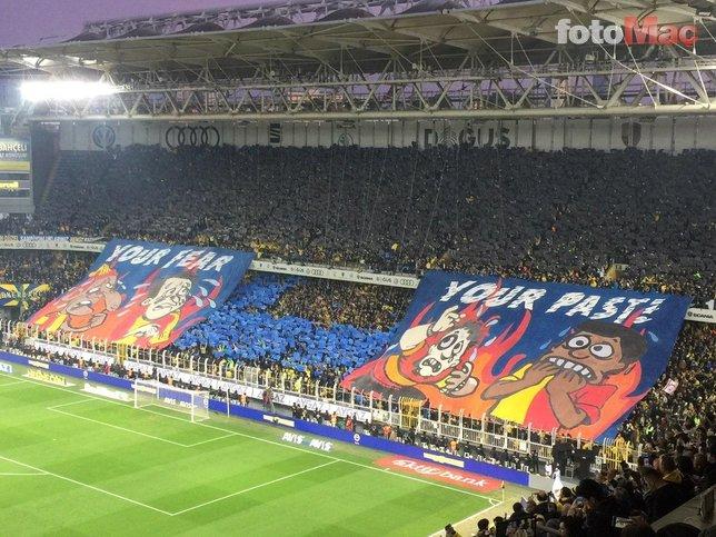 Fenerbahçe - Galatasaray maçında dikkat çeken 6-0 detayı!