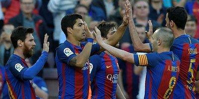 Barcelona'dan üst üste 5. galibiyet