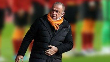Son dakika spor haberleri: Galatasaray Fatih Karagümrük maçında teknik direktör Fatih Terim tribünden direktif verdi!