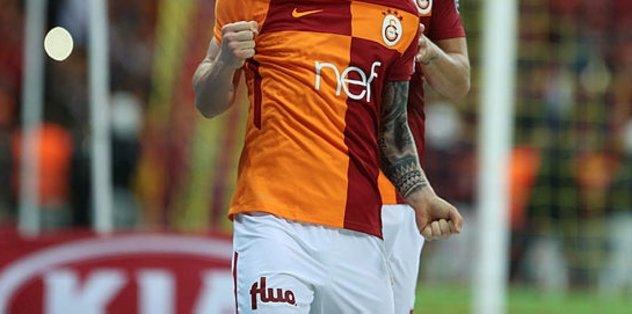 Galatasaraylı yıldız derbide yok!