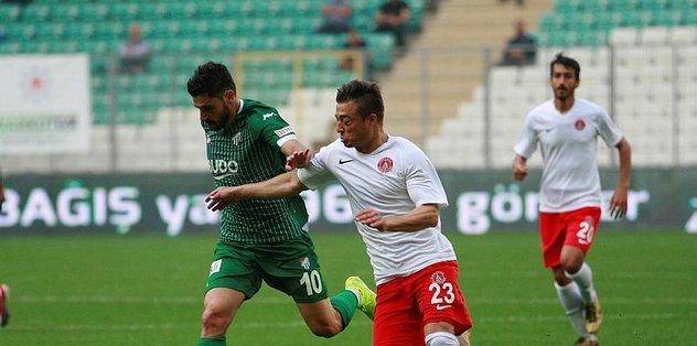 Bursaspor'da Özer sevinci