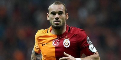 Galatasaray part ways with Wesley Sneijder