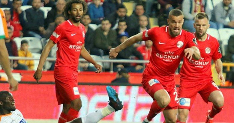 Antalyaspor - Alanyaspor maçından kareler