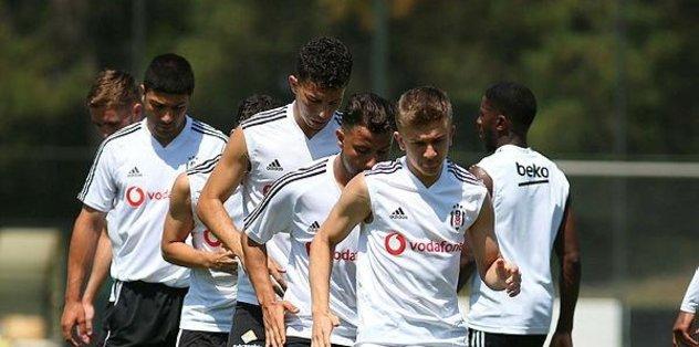 Beşiktaş Kayserispor maçına hazır
