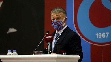 """Son dakika spor haberi: Trabzonspor'da Ahmet Ağaoğlu'dan şampiyonluk sözleri! """"İnşallah bu sezon başaracağız"""""""