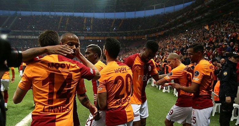 Galatasaray'da her şey galibiyet için