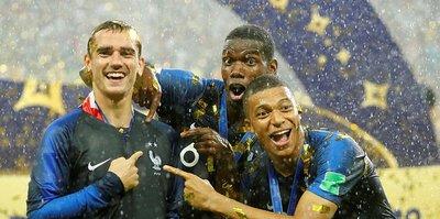 Fransa Milli Takımı'nın Türkiye maçı kadrosu açıklandı