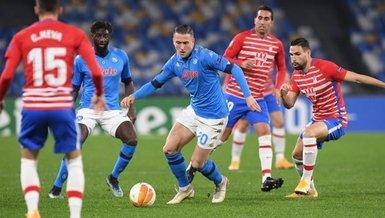 Napoli-Granada: 2-1 (MAÇ SONUCU-ÖZET)