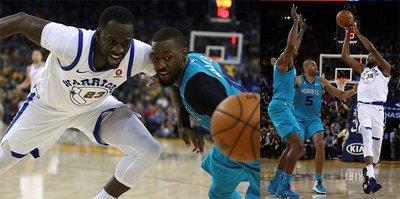 Warriors evinde Hornets'a yenildi