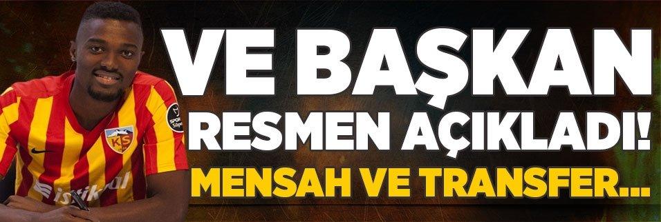 ve baskan acikladi bernard mensah ve transfer 1597065138753 - Beşiktaş'tan Mensah hamlesi! Kulüpler Birliği sonrası...