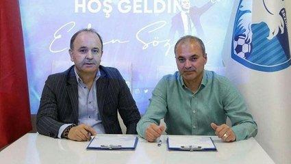 Erkan Sözeri Erzurumspor'da