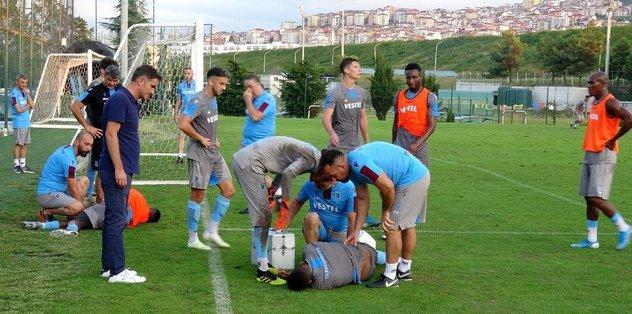 Trabzonspor'da 2 şok sakatlık