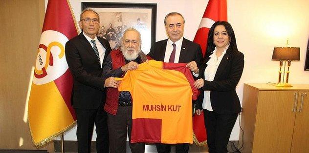 Galatasaray'dan şampiyona 63 yıllık vefa