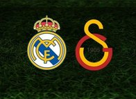 İşte Real Madrid-Galatasaray maçı ilk 11'leri