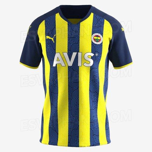 Son dakika spor haberleri: Fenerbahçe'nin yıldızsız yeni sezon forması internete sızdı!