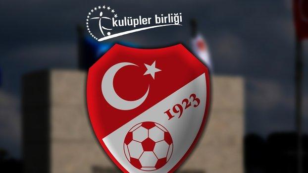 Son dakika: Kulüpler Birliği'nden TFF'ye öneri! Yabancı sayısı... #