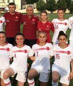 Kadın A Milli Takımı özel maçta Moldova'yı 2-0 yendi