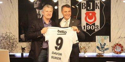 Davor Suker'den Beşiktaş'a ziyaret