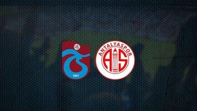 Son dakika spor haberleri: Trabzonspor'un Antalyaspor maçı 11'i belli oldu!