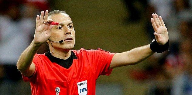 Cüneyt Çakır Slovenya-Avusturya maçını yönetecek