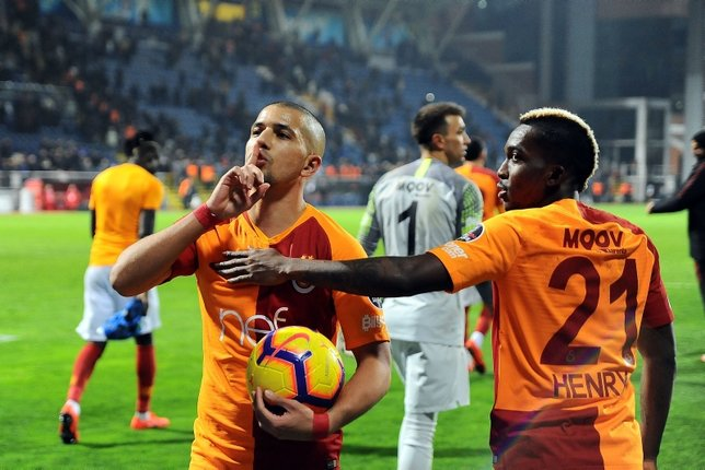 Galatasaray Feghouli ile gaza bastı!