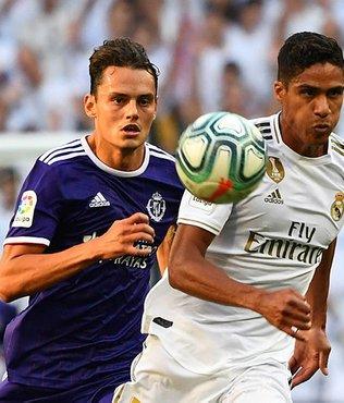 Real Madrid Valladolid ile berabere kaldı