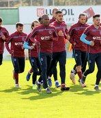 Trabzonspor'da Göztepe maçı hazırlıkları moralsiz başladı
