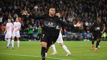 PSG sahasında Angers'i mağlup etti