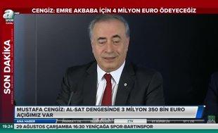 """Mustafa Cengiz'den Emre Akbaba yorumu: """"G.Saraylı duruşu..."""""""