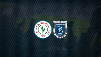 Rizespor - Başakşehir maçı ne zaman, saat kaçta ve hangi kanalda canlı yayınlanacak? | Süper Lig