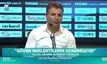 Tamer Tuna'dan maç sonu açıklaması: Galibiyet önemliydi