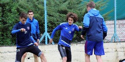 Karabükspor, Osmanlıspor maçı hazırlıklarını sürdürdü