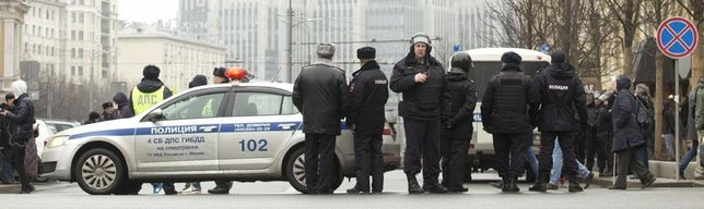 Moskova'da bomba alarmı!
